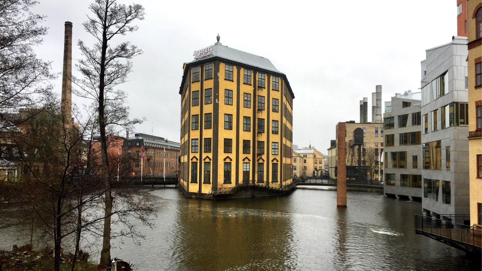 Industriområdet räddar Norrköping