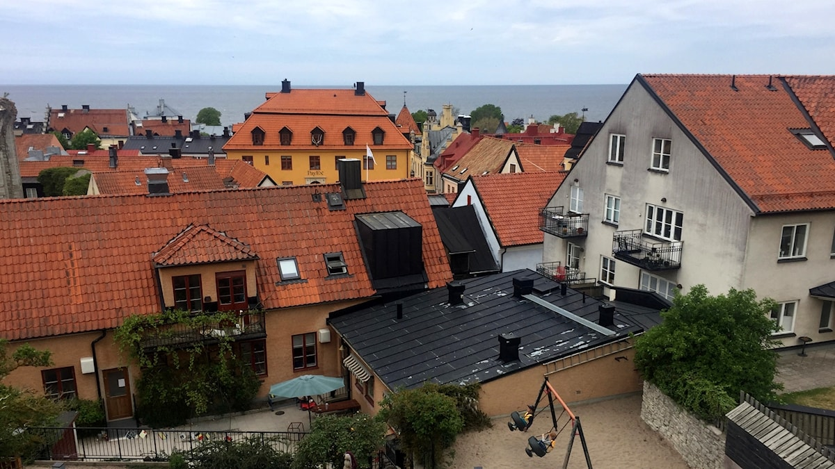 Hus i Visby
