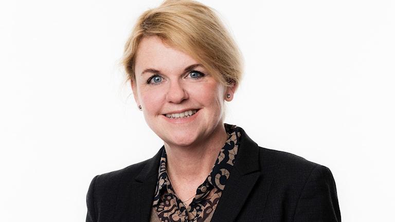 Helena Engqvist, kommunikationsdirektör. Foto: Mattias Ahlm/Sveriges Radio