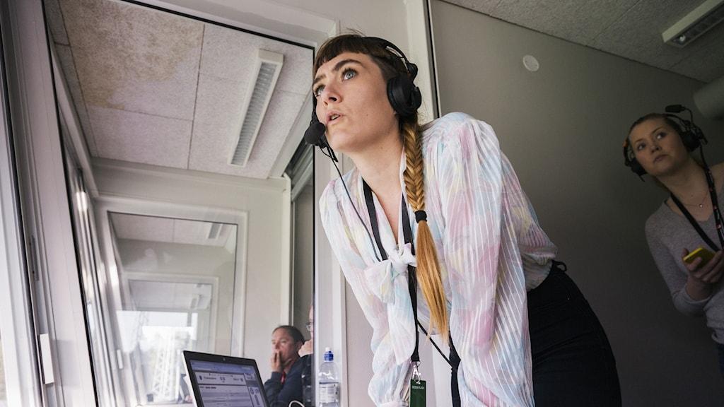 Radiosportens Susanna Andrén