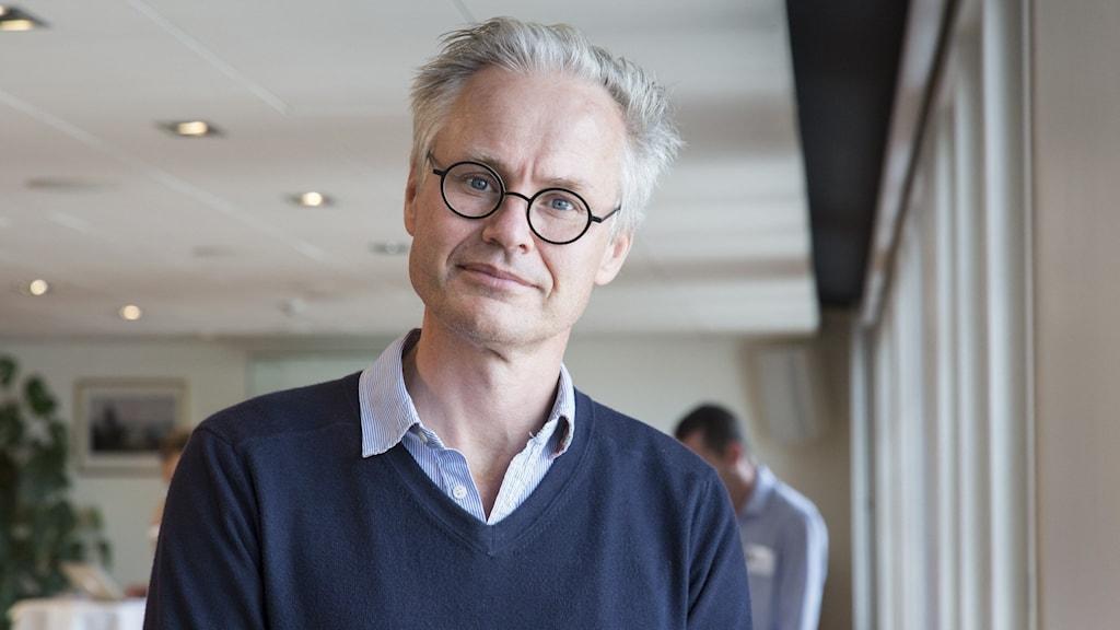 Gabriel Byström, chef för VD-enheten