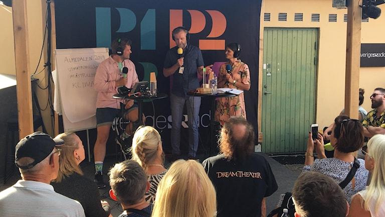 Det Politiska Spelet på scen Gäst Jenny Madestam