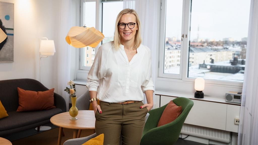 Cajsa Lindberg Utbudsdirektör Sveriges Radio