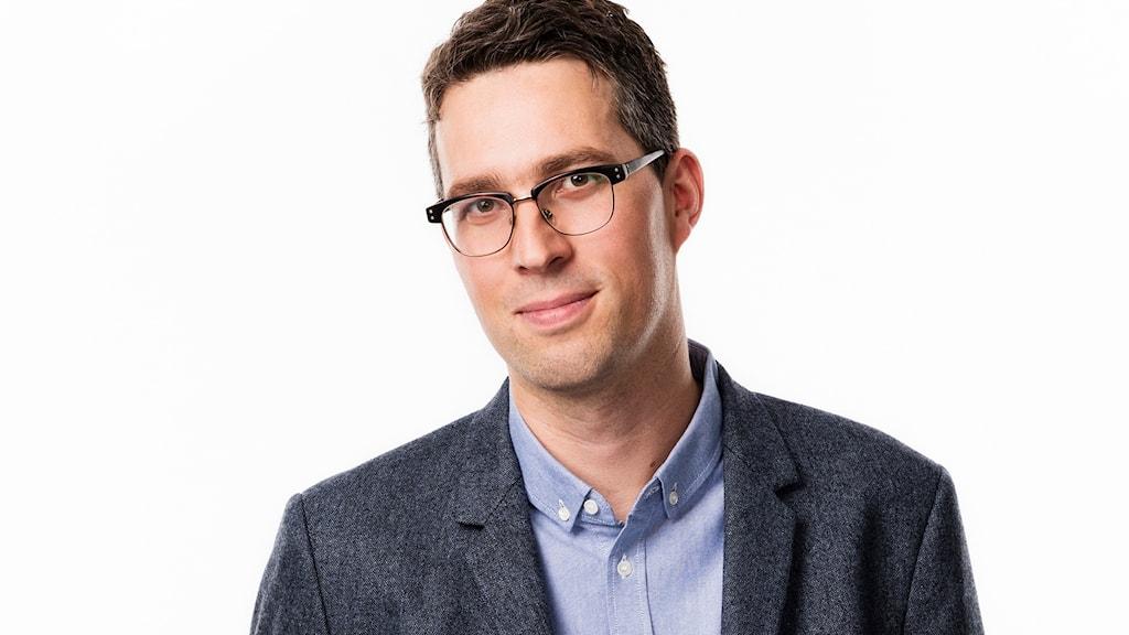 Simon Gooch, innovationsdirektör. Foto: Mattias Ahlm/Sveriges Radio
