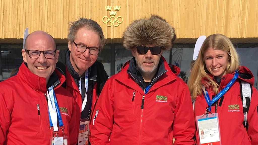 Radiosporten på plats i Pyeongchang.
