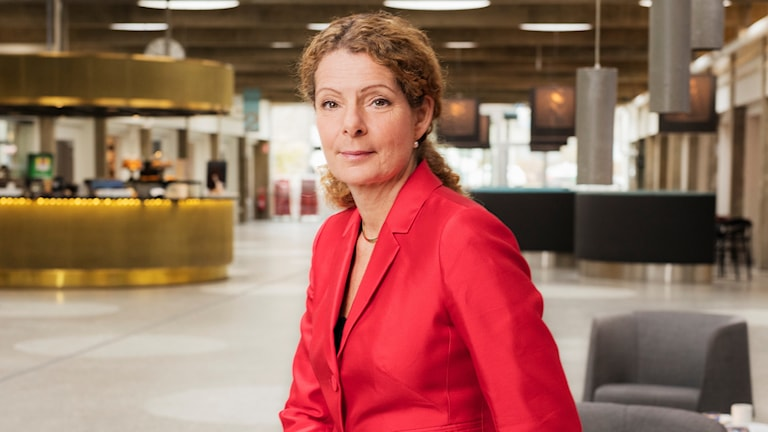 Cilla Benkö, vd Sveriges Radio. Foto: Mattias Ahlm/Sveriges Radio