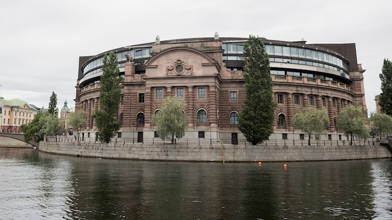مقر البرلمان السويدي