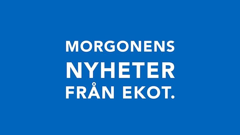 Programbild för Morgonens nyheter från Ekot.