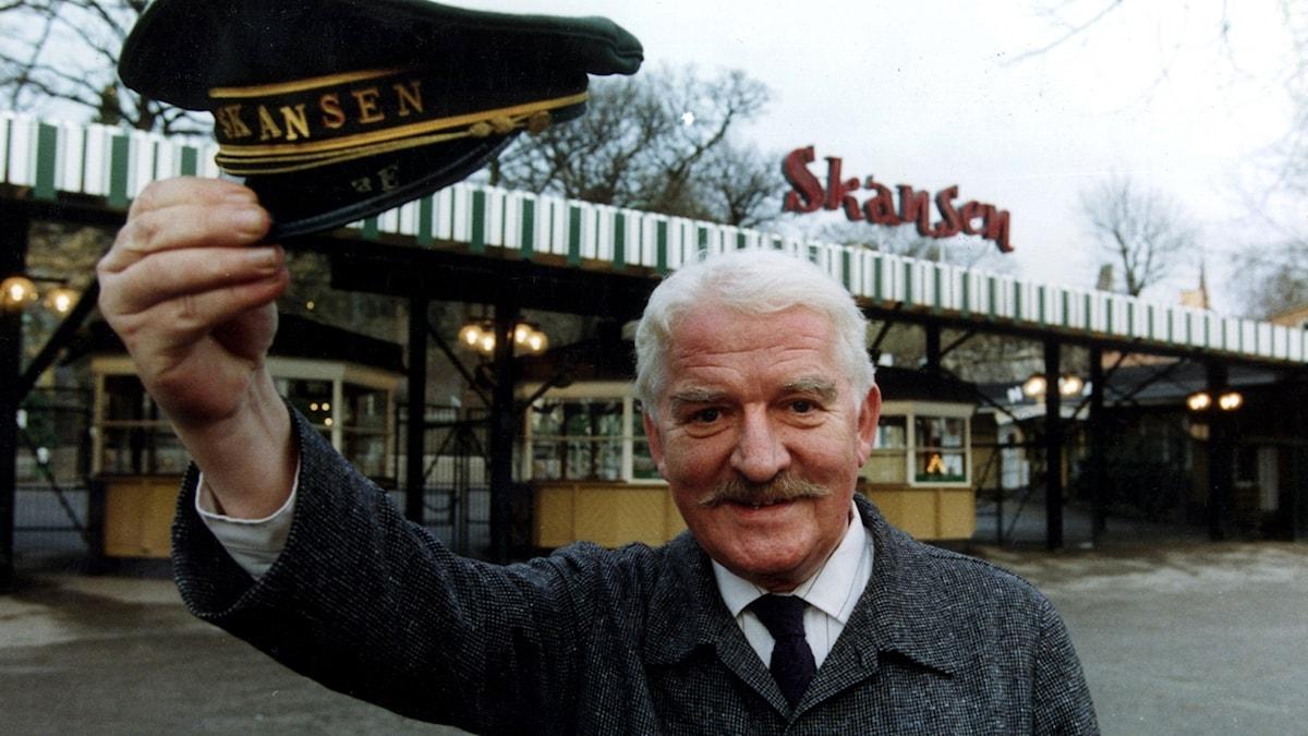 Hans Alfredson, ny chef för Skansen.