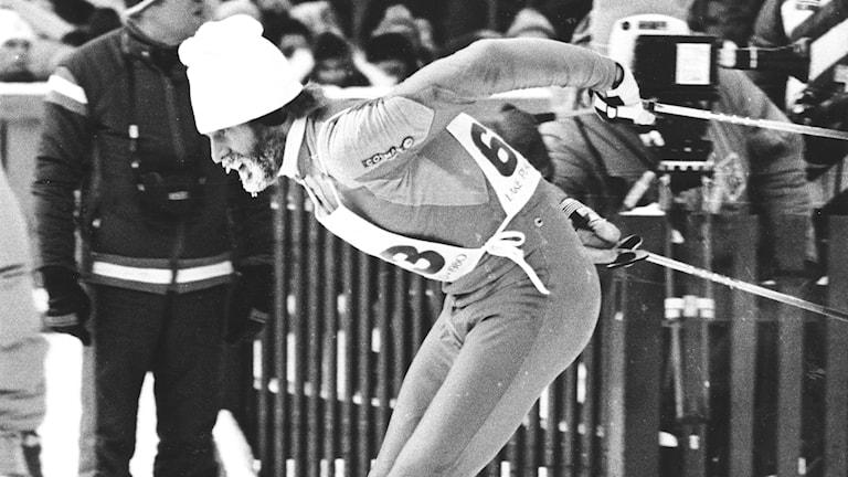 OS 1980 Thomas Wassberg. Foto: Hans T Dahlskog/TT