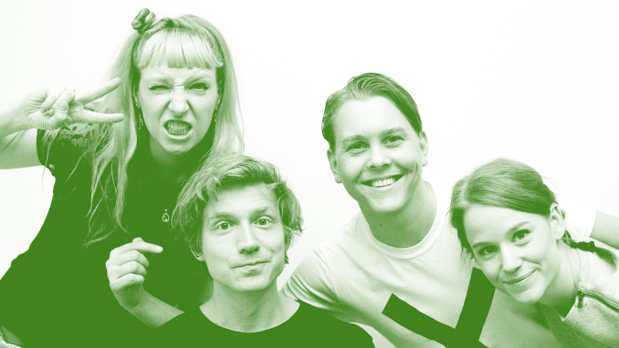 Quiz med Emil Assergård, Josefin Johansson och Camilla Fågelborg