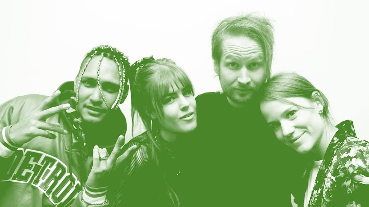 Newkid, Dotter, Henrik Nyblom och Camilla Fågelborg.