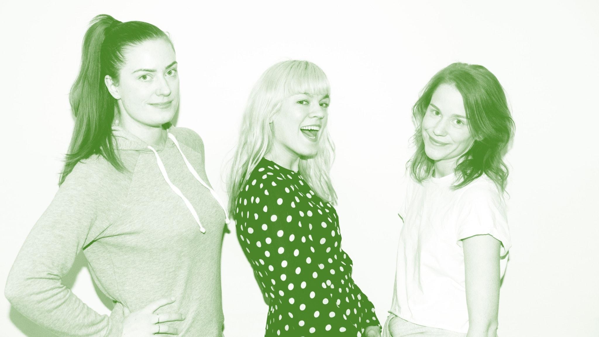 Tagga ner helgen med Filippa, Sara och Camilla