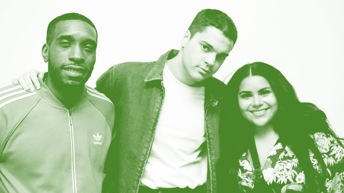 Ison Glasgow, Oscar Zia och Arantxa Alvarez