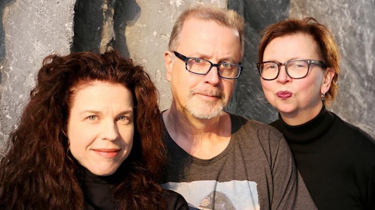 Maja Aase, Jonathan Lindström och Jessica Gedin