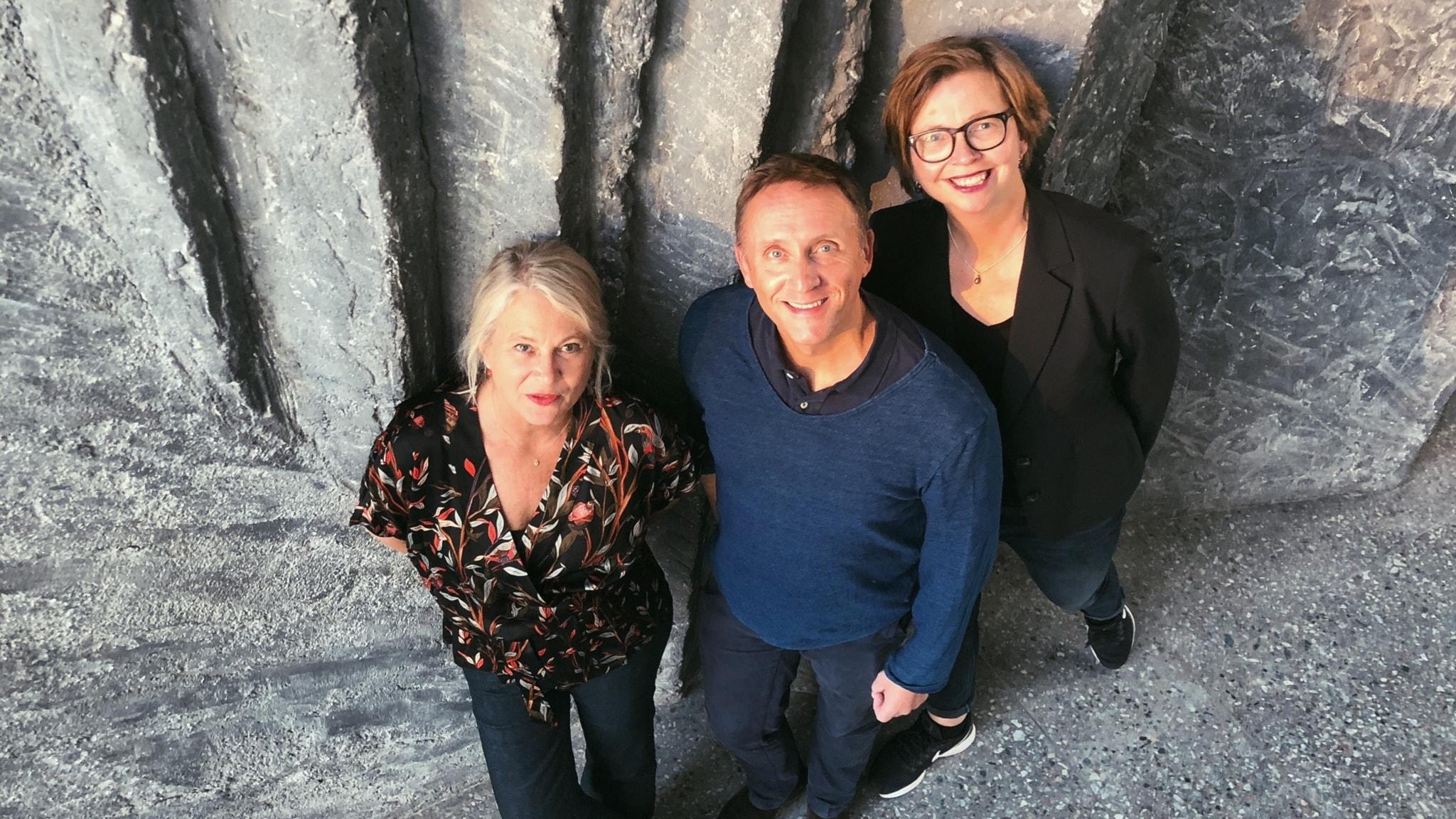Helena von Zweigbergk, Göran Everdahl och Maja Aase
