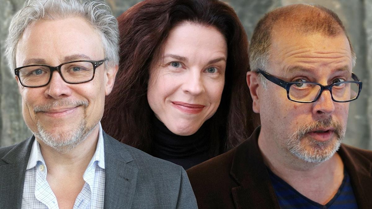 Staffan Dopping, Jessika Gedin och Jonathan Lindström