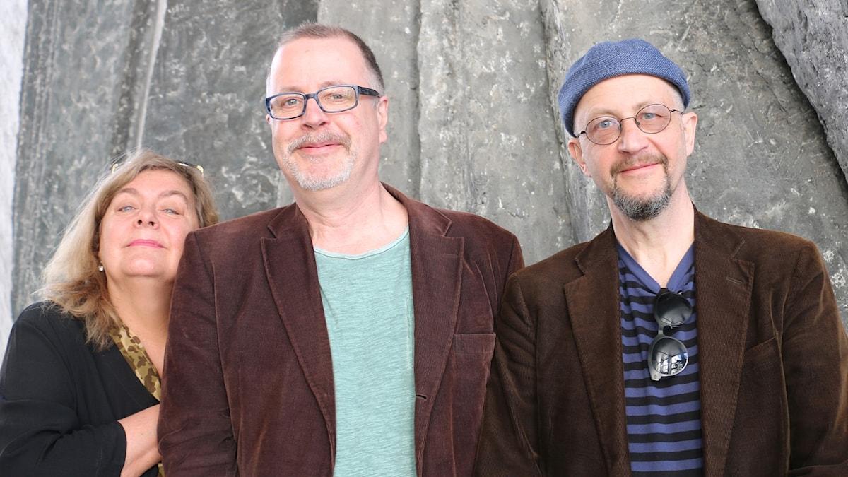Annika Sundberg, Jonathan Lindström och Per Naroskin.