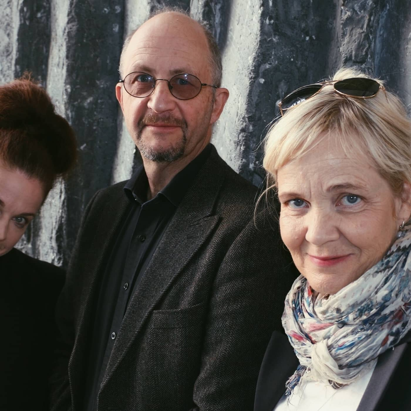 Gabriella Ahlström, Per Naroskin och Jessika Gedin.