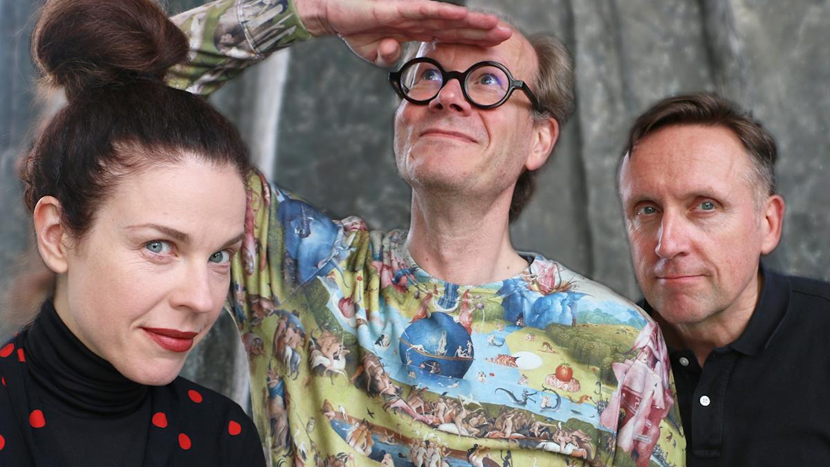 Johan Hakelius, Jessika Gedin och Göran Everdahl.