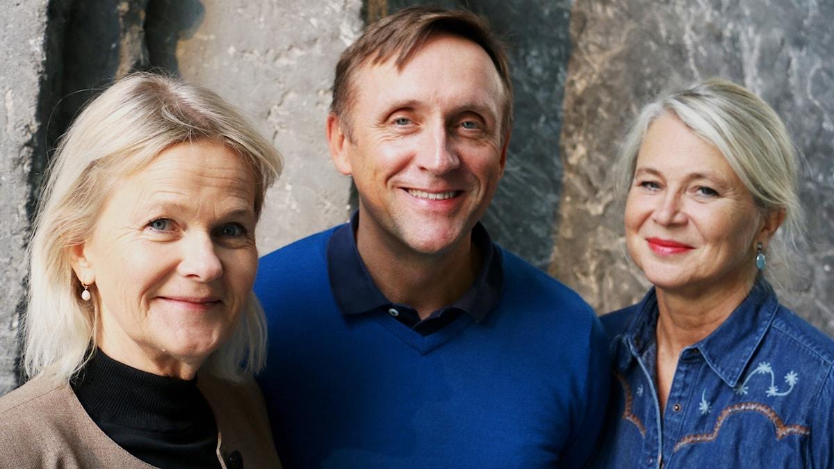 Sissela Kyle, Göran Everdahl och Helena von Zweigbergk.