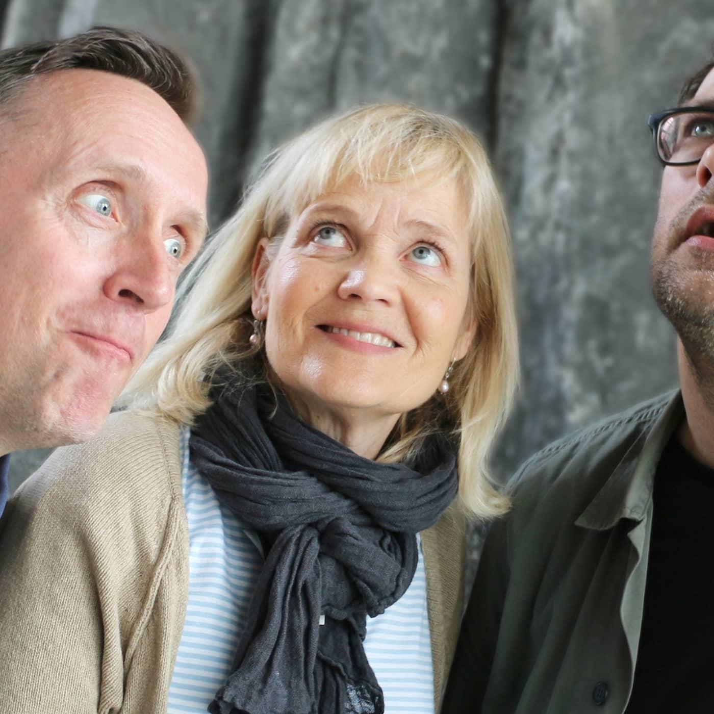 Göran Everdahl, Gabriella Ahlström och Niklas Källner
