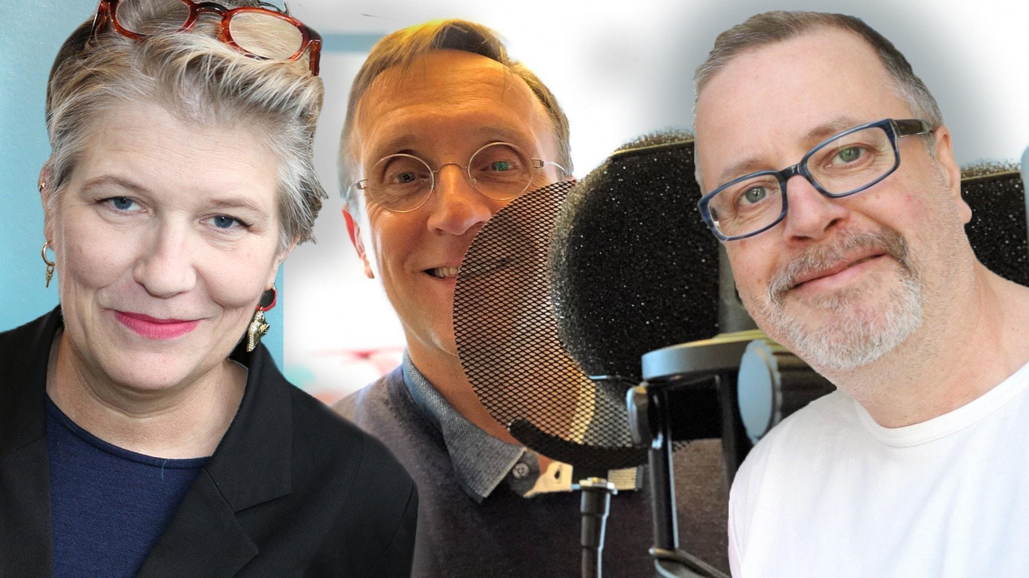 Veckans spanare i panelen Göran Everdahl Camilla Lif och Jonathan Lindström