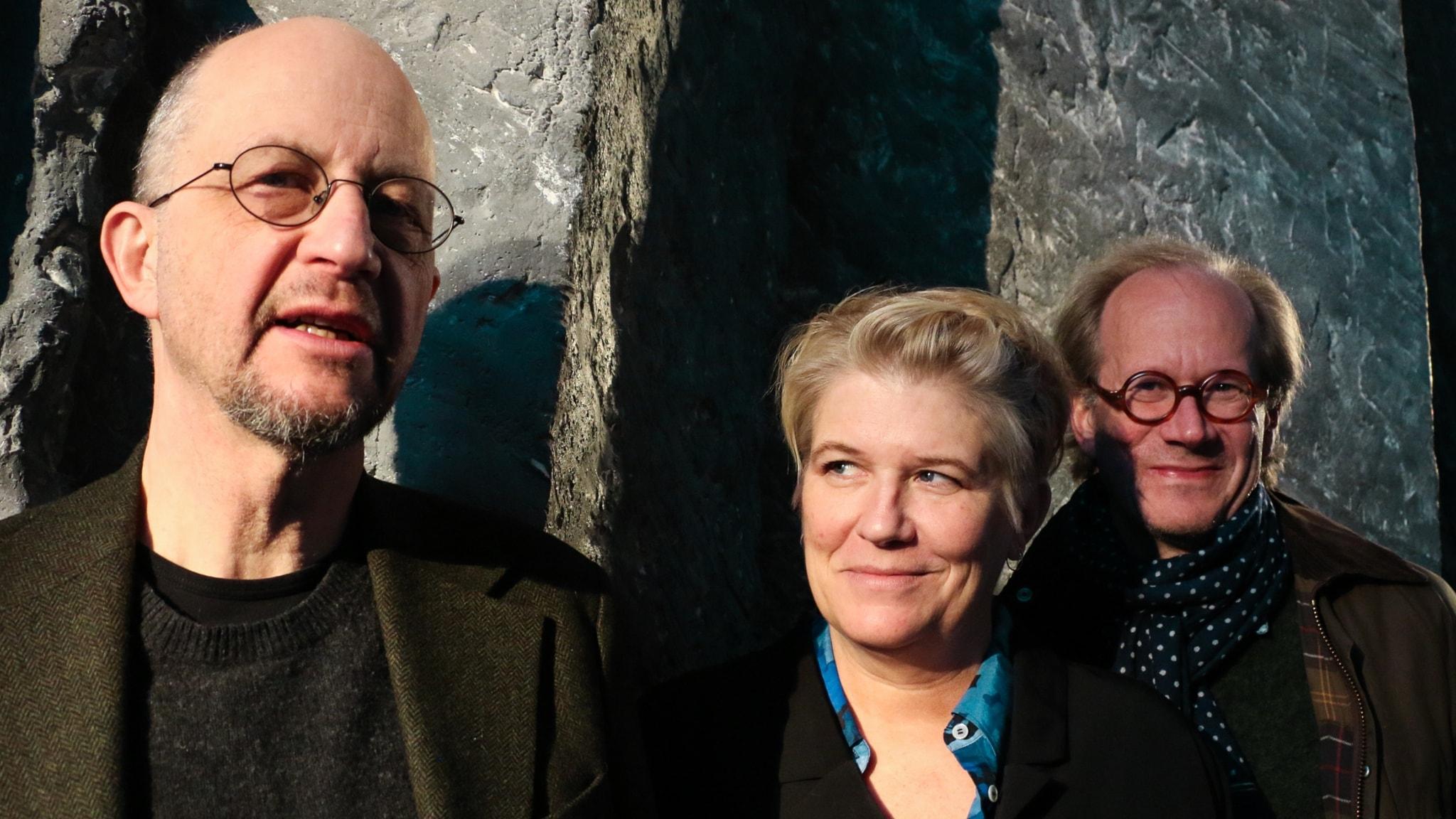Per Naroskin, Camilla Lif och Johan Hakelius