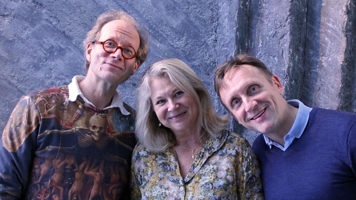 Johan Hakelius, Helena von Zweigbergk och Göran Everdahl.