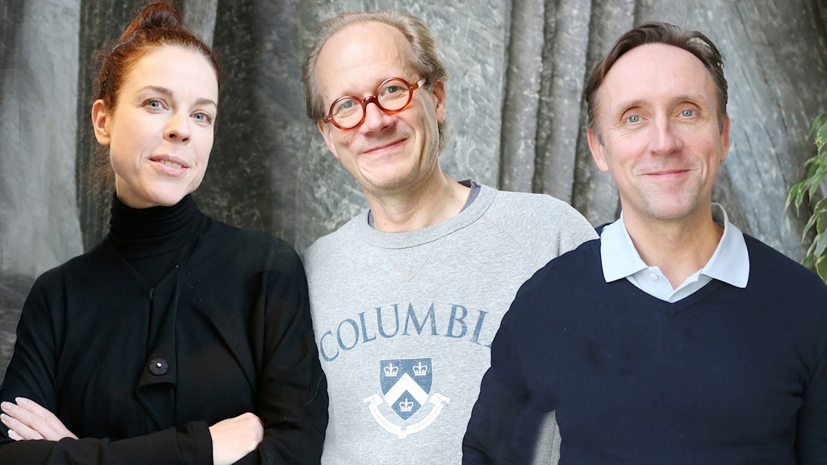 Jessika Gedin, Johan Hakelius och Göran Everdahl