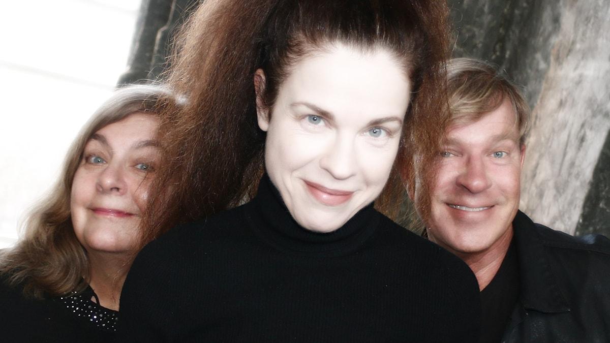 essika Gedin, Calle Norlén, och Annika Sundberg