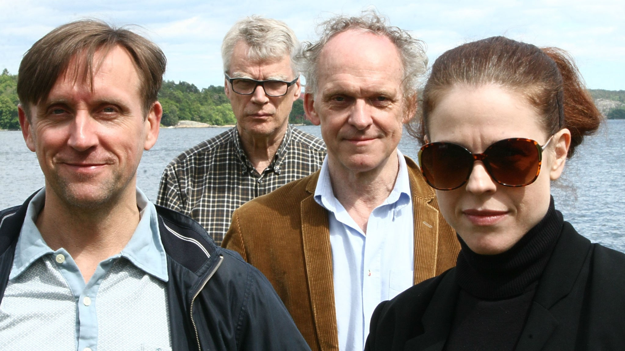 Göran Everdahl, Jonas Hallberg, Ingvar Storm och Jessika Gedin. Foto: Benjamin Thorén.