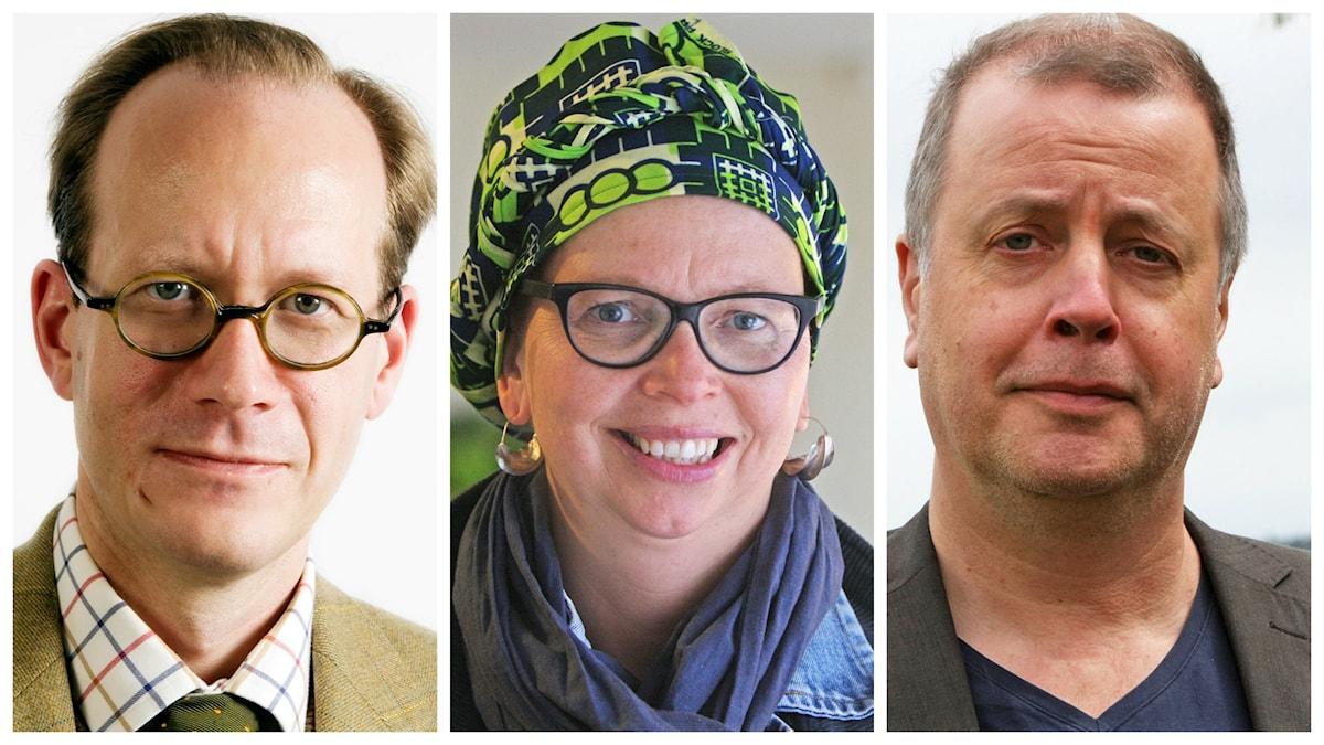Kollage. Veckans spanare: Johan Hakelius, Maja Aase och Jonathan Lindström