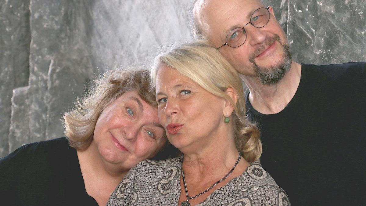 Annika Sundberg, Helena von Zweigbergk och Per Naroskin.