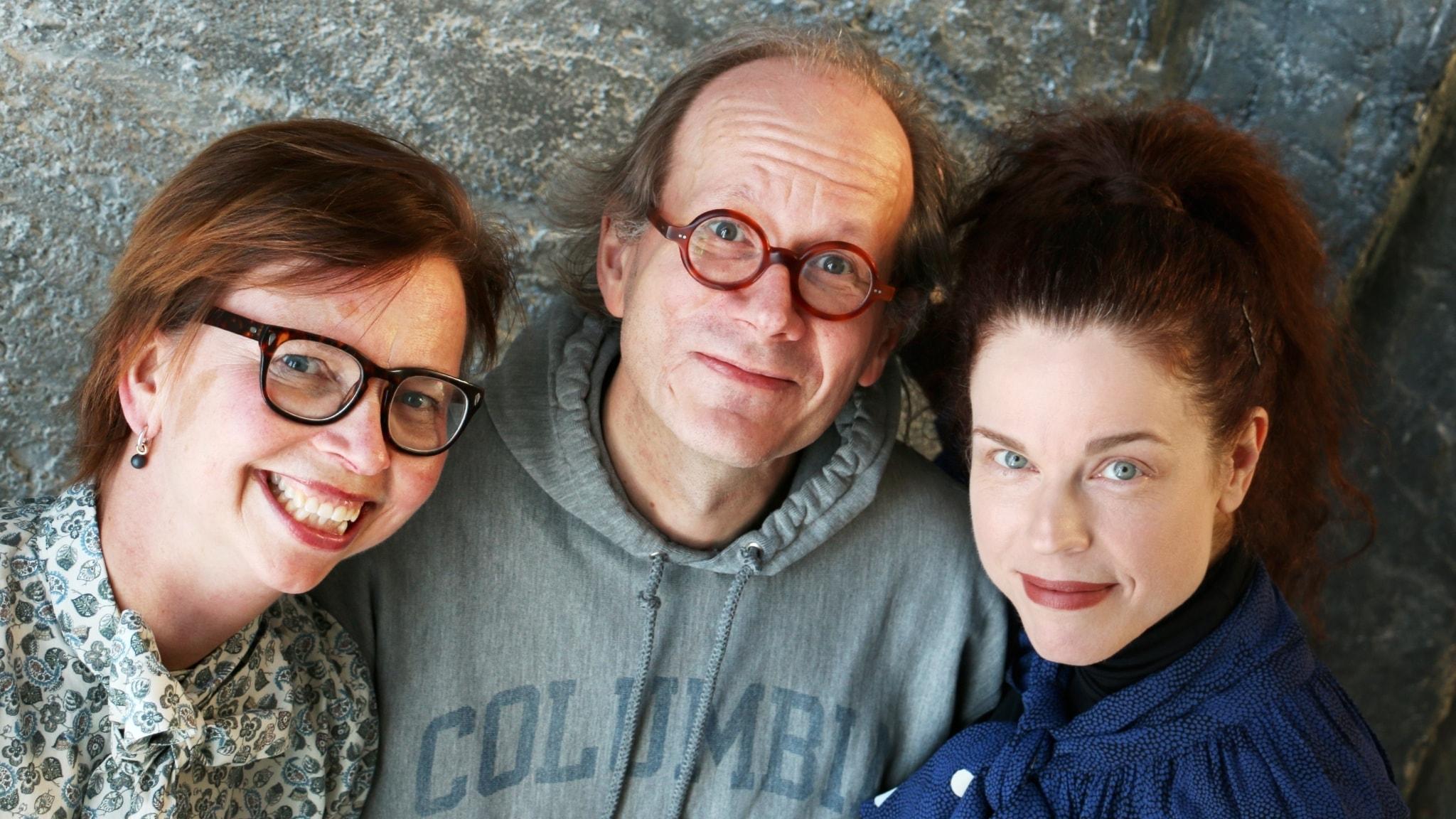Jessika Gedin, Johan Hakelius och Maja Aase
