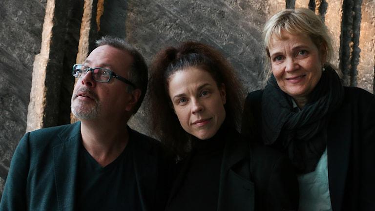 Jessika Gedin, Jonathan Lindström och Gabriella Ahlström