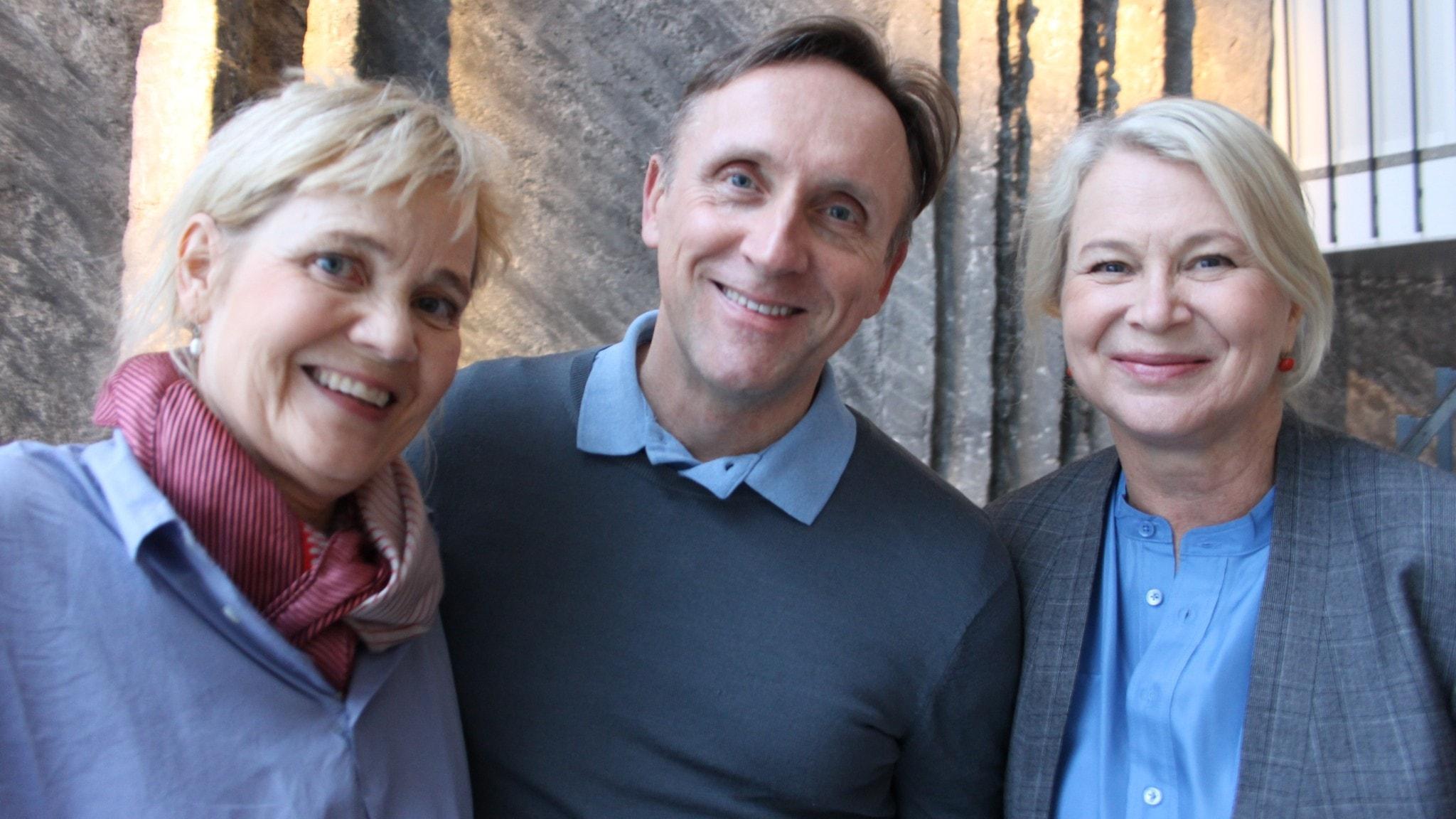 Veckans panel: Gabriella Ahlström, Göran Everdahl och Helena von Zweigbergk