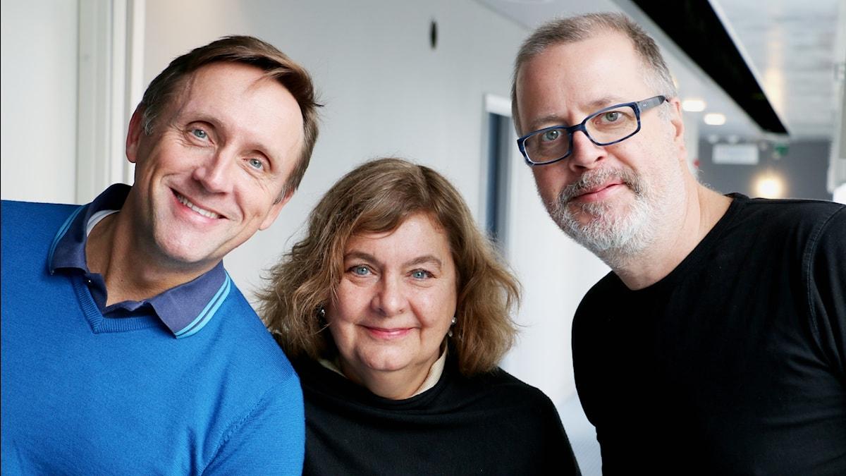 Göran Everdahl, Annika Sundberg och Jonathan Lindström.