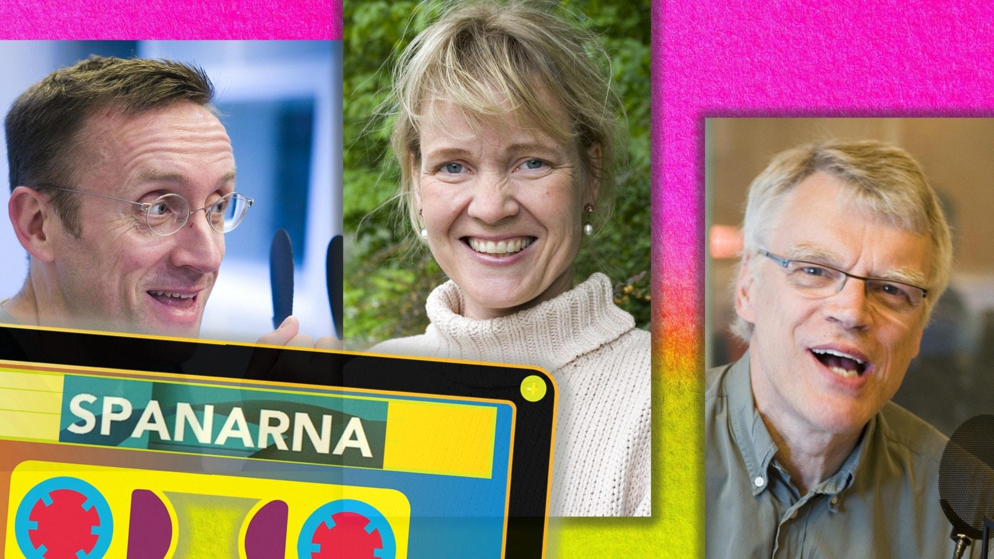 Göran Everdahl, Jonas Hallberg och Gabriella Ahlström. Foto Micke Grönberg Sveriges Radio