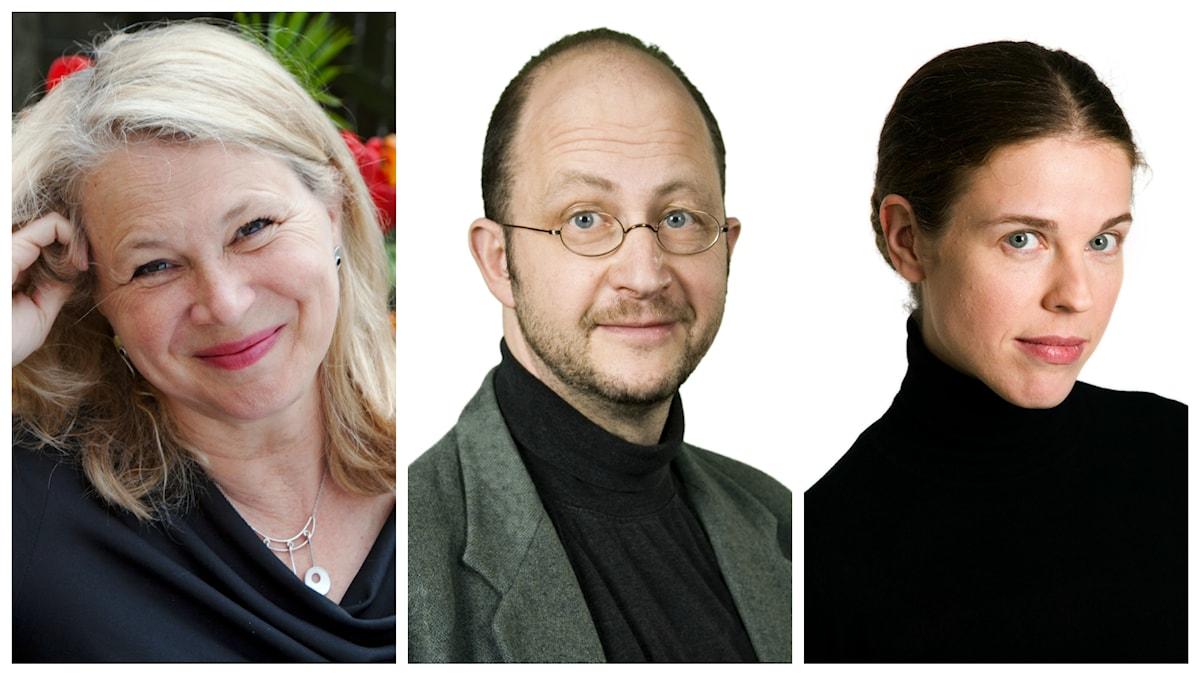 I veckans spanarpanel den här veckan hos Ingvar Storm hör vi: Helena von Zweigbergk, Per Naroskin och Jessika Gedin.