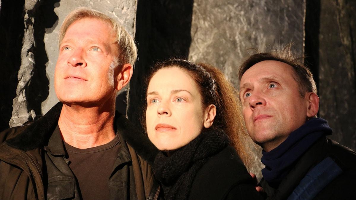 Calle Norlén, Jessika Gedin och Göran Everdahl