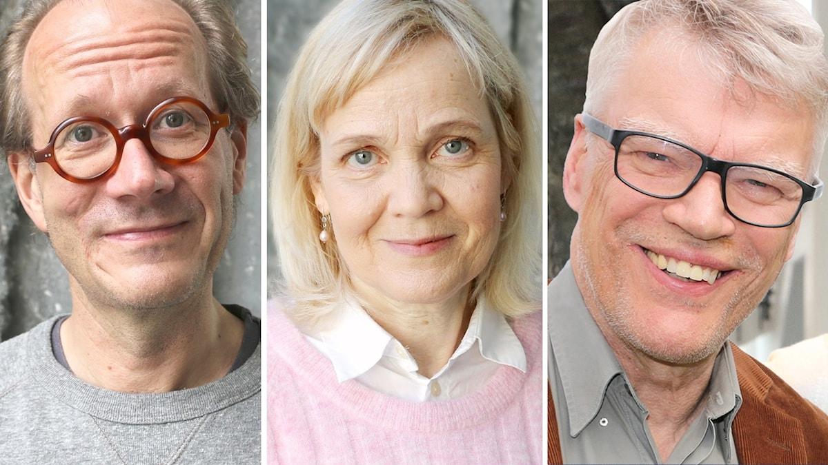 Veckans panel: Johan Hakelius Gabriella Ahlström och Jonas Hallberg