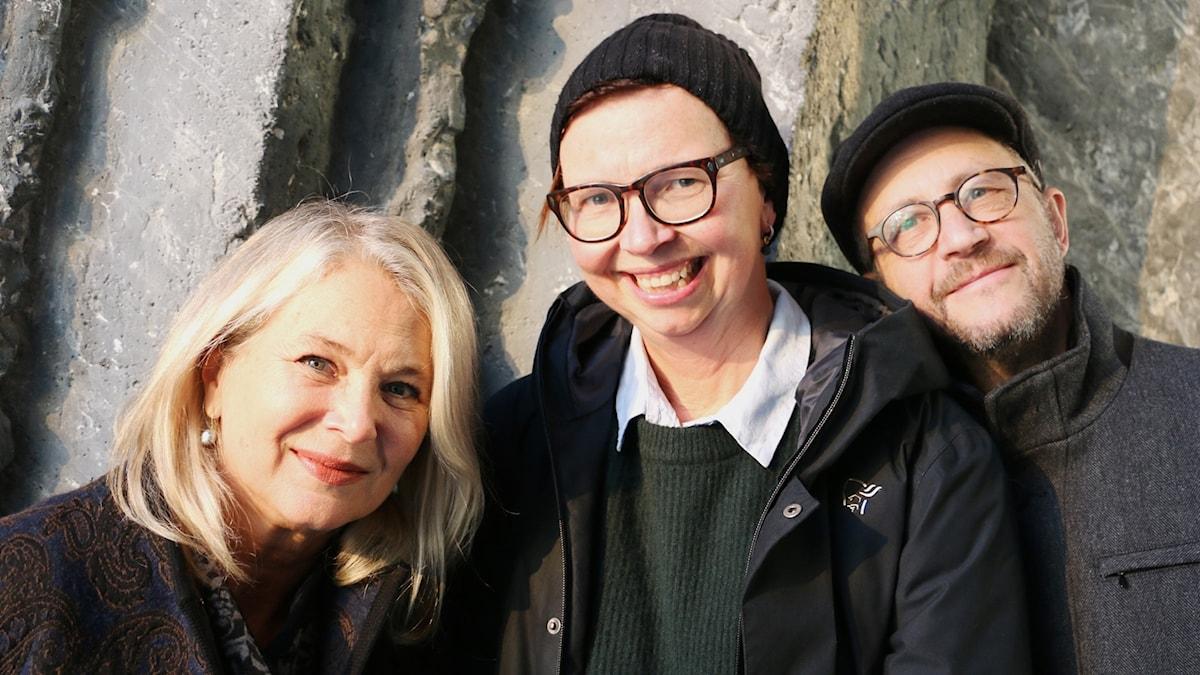 Helena von Zweigbergk, Maja Aase och Per Naroskin