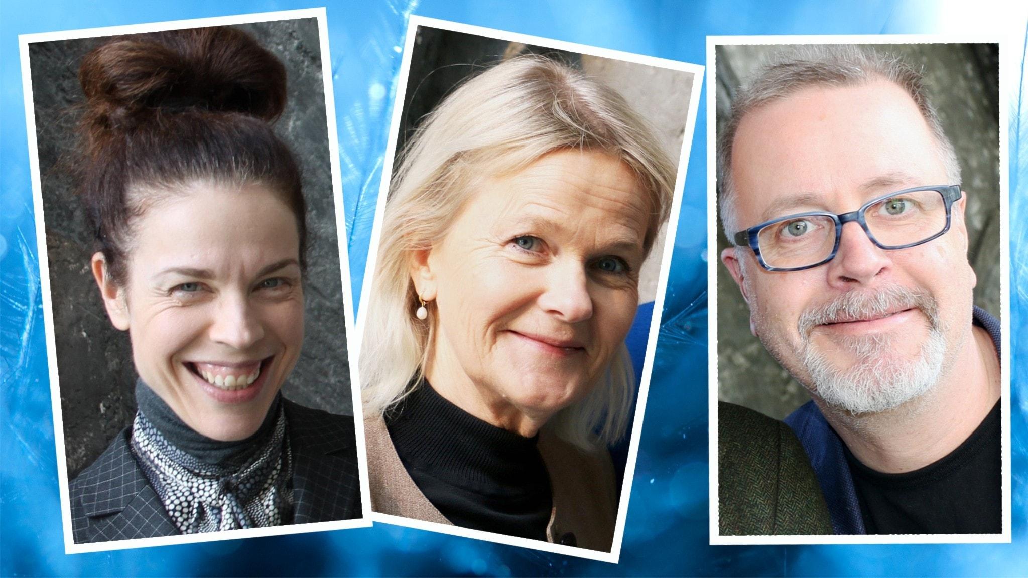 Kollage: Jessika Gedin Sissela Kyle och Jonathan Lindström är veckans Spanare.