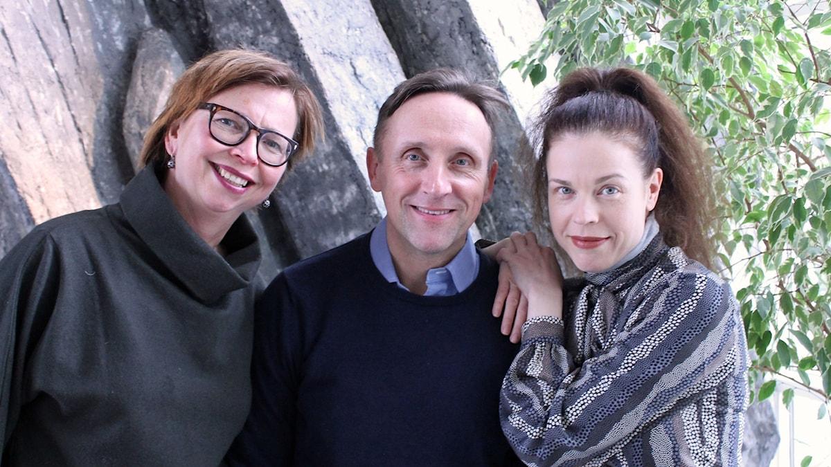 Maja Aase, Göran Everdahl, Jessika Gedin.