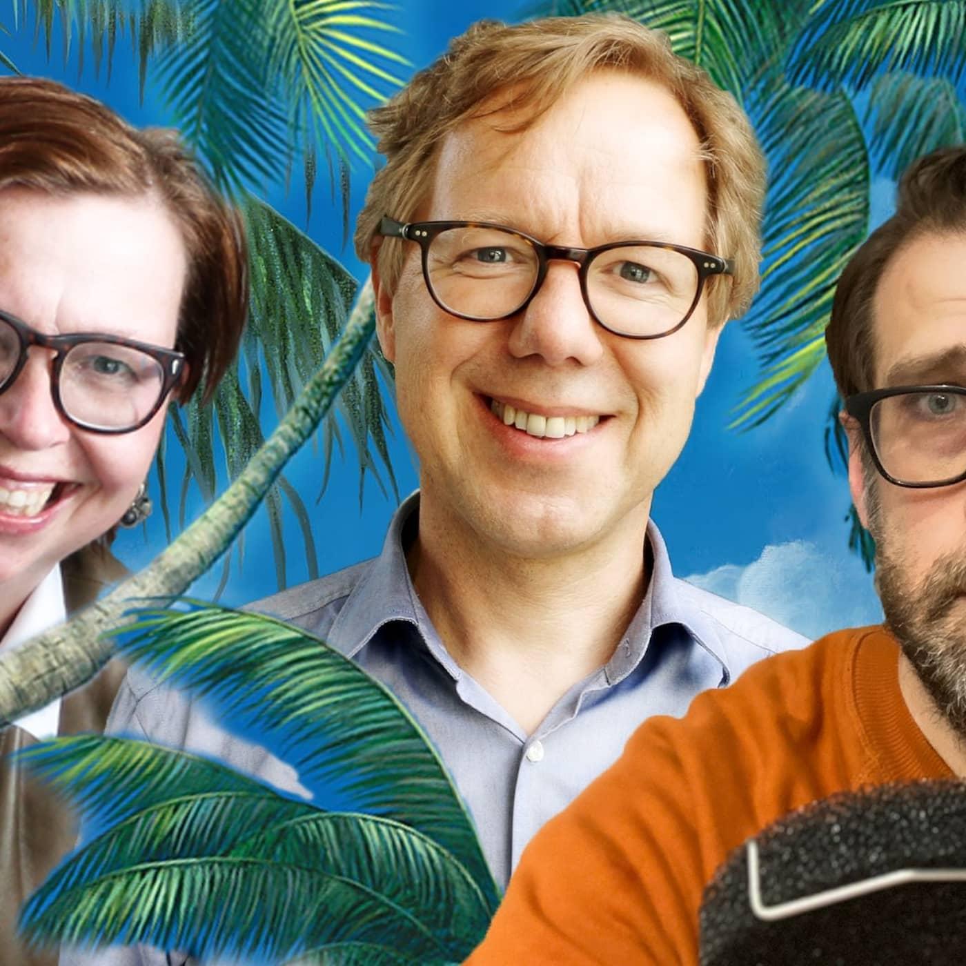 Patrik Hadenius: Den tydliga luddigheten. Maja Aase: Hej, alla Britt-Mariesar. Niklas Källner: Seriekrockar.