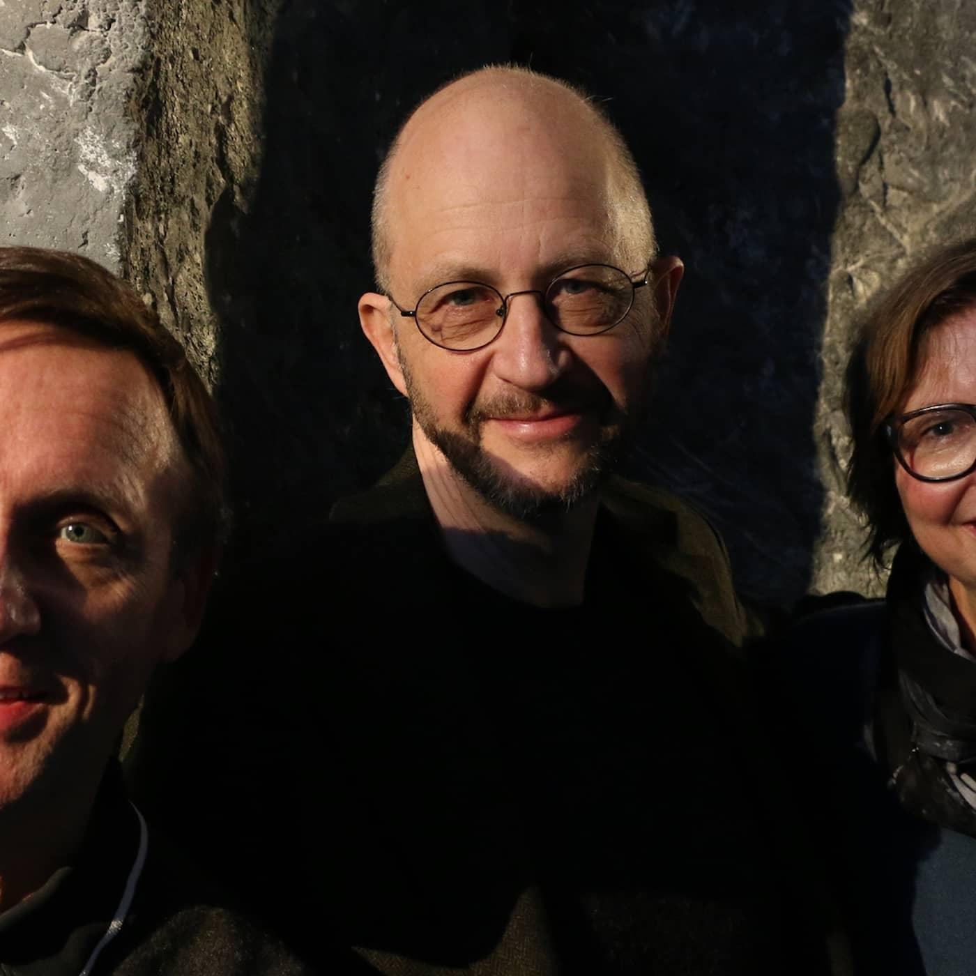 Göran Everdahl, Maja Aase och Per Naroskin
