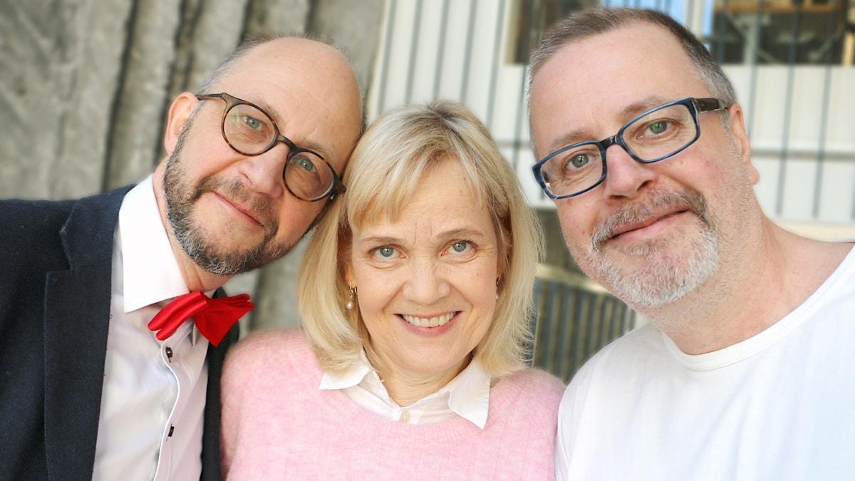 Per Naroskin, Gabriella Ahlström och Jonathan Lindström.
