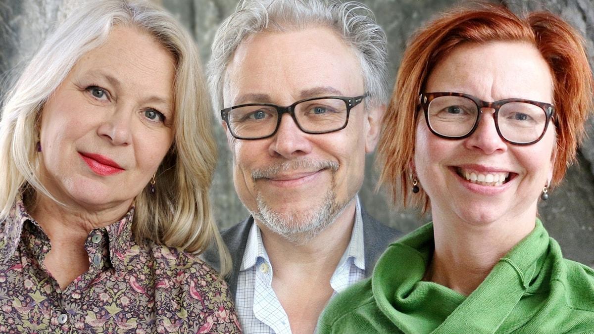 Helena von Zweigbergk, Staffan Dopping och Maja Aase
