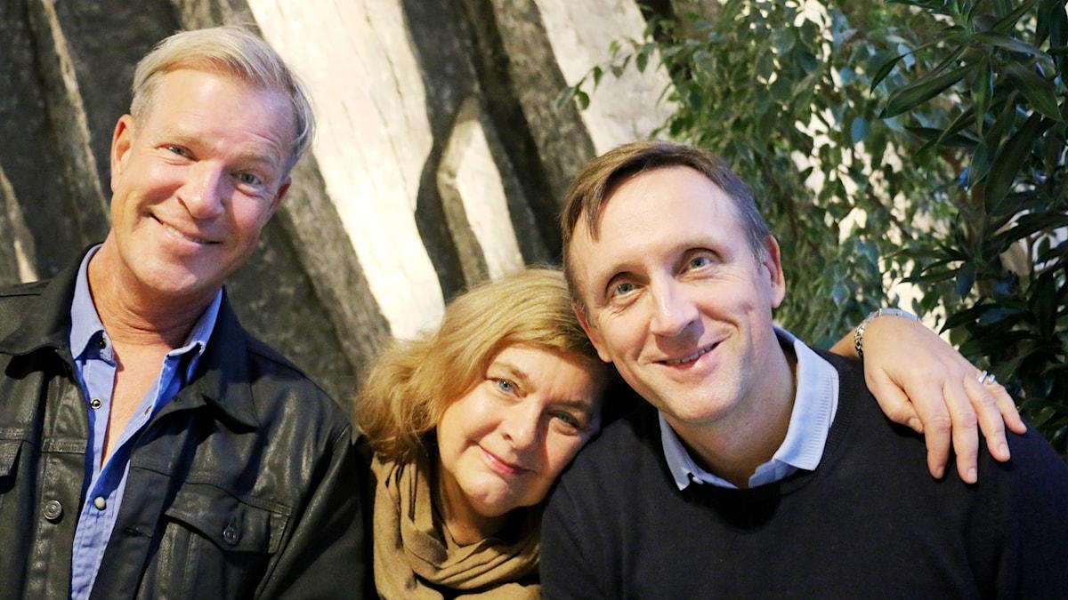 Calle Norlén, Annika Sundberg och Göran Everdahl